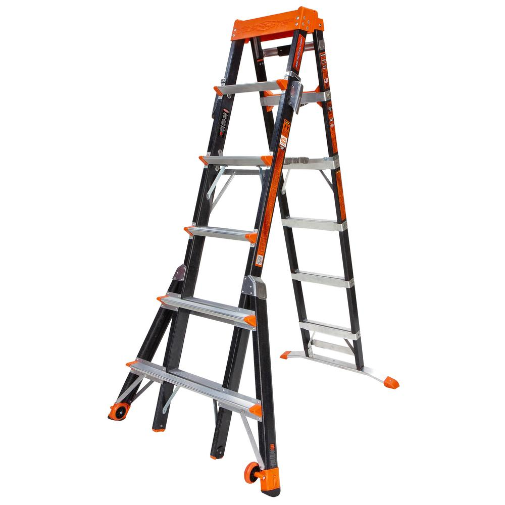 Little Giant Ladder Systems Select Step 10 Ft Fiberglass