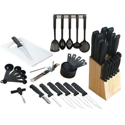 Total Kitchen 41-Piece Combo Knife Set