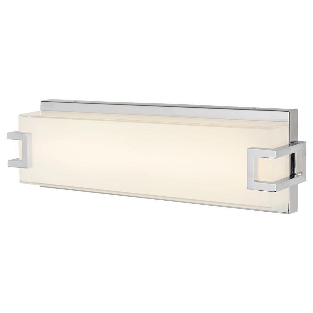 Grandale 17.25 in. Chrome LED Vanity Light