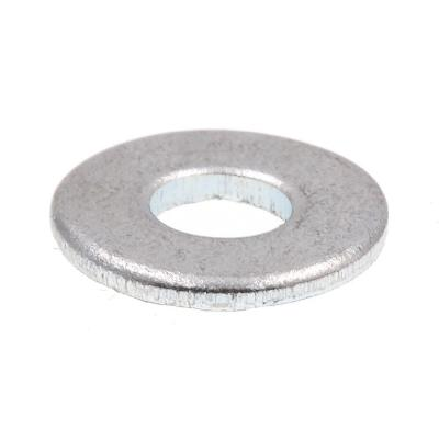 #6 x 3/8 in. O.D. SAE Zinc Plated Steel Flat Washers (50-Pack)
