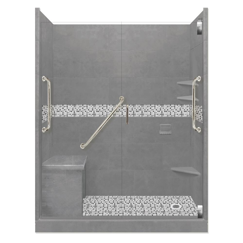 Del Mar Freedom Grand Hinged 34 in. x 60 in. x