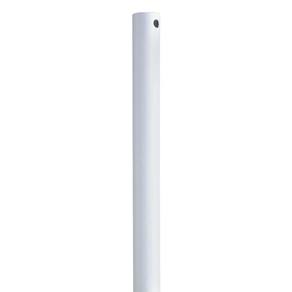 Progress Lighting AirPro 24 in. White Extension Downrod
