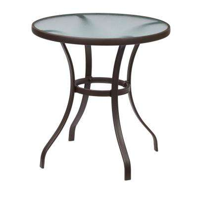 Mix and Match Round Metal Outdoor Bistro Table