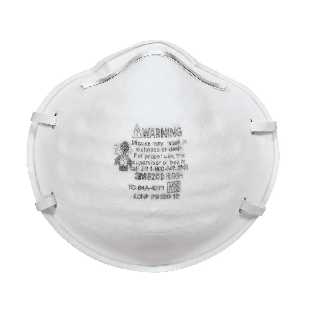 3M N95 Sanding and Fiberglass Respirator (40-Pack)