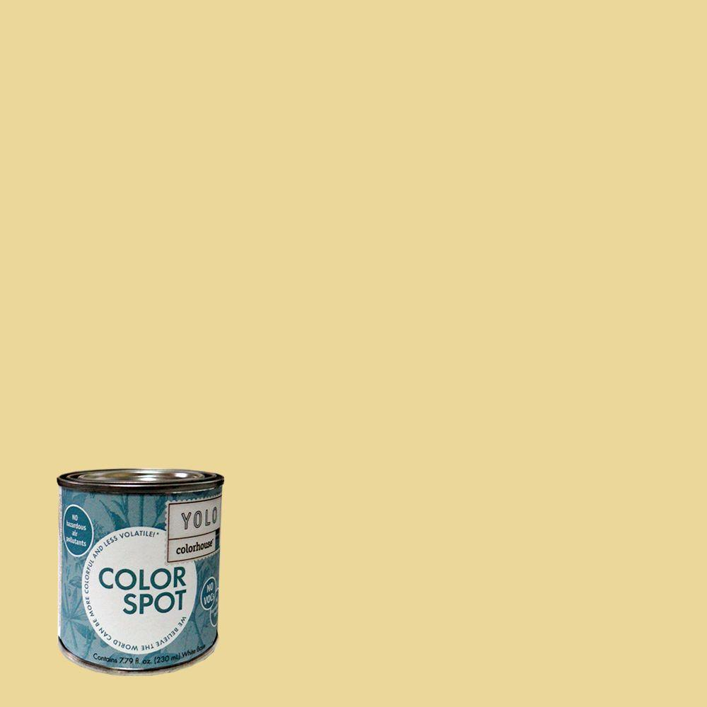 YOLO Colorhouse 8 oz. Beeswax .01 ColorSpot Eggshell Interior Paint Sample-DISCONTINUED