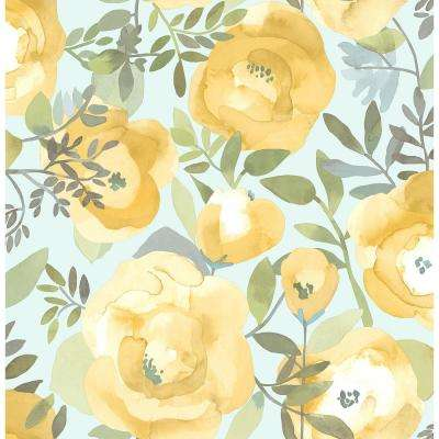 Yellow Wallpaper Home Decor The Home Depot