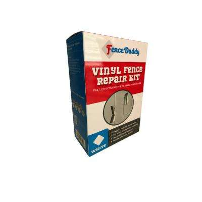 Vinyl Fence Repair Kit in White