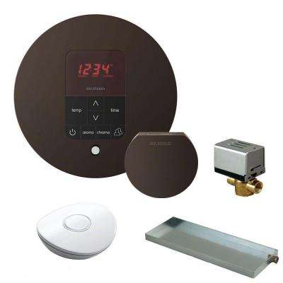 MS Butler Package with iTempo Pro Round Programmable Control for Steam Bath Generator in Oil Rubbed Bronze