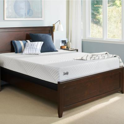 Conform Essentials 10.5 in. King Cushion Firm Mattress with 5 in. Low Profile Foundation Set