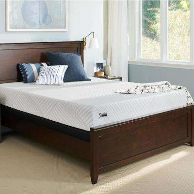 Conform Essentials King Cushion Firm Mattress with 5 in. Low Profile Foundation Set