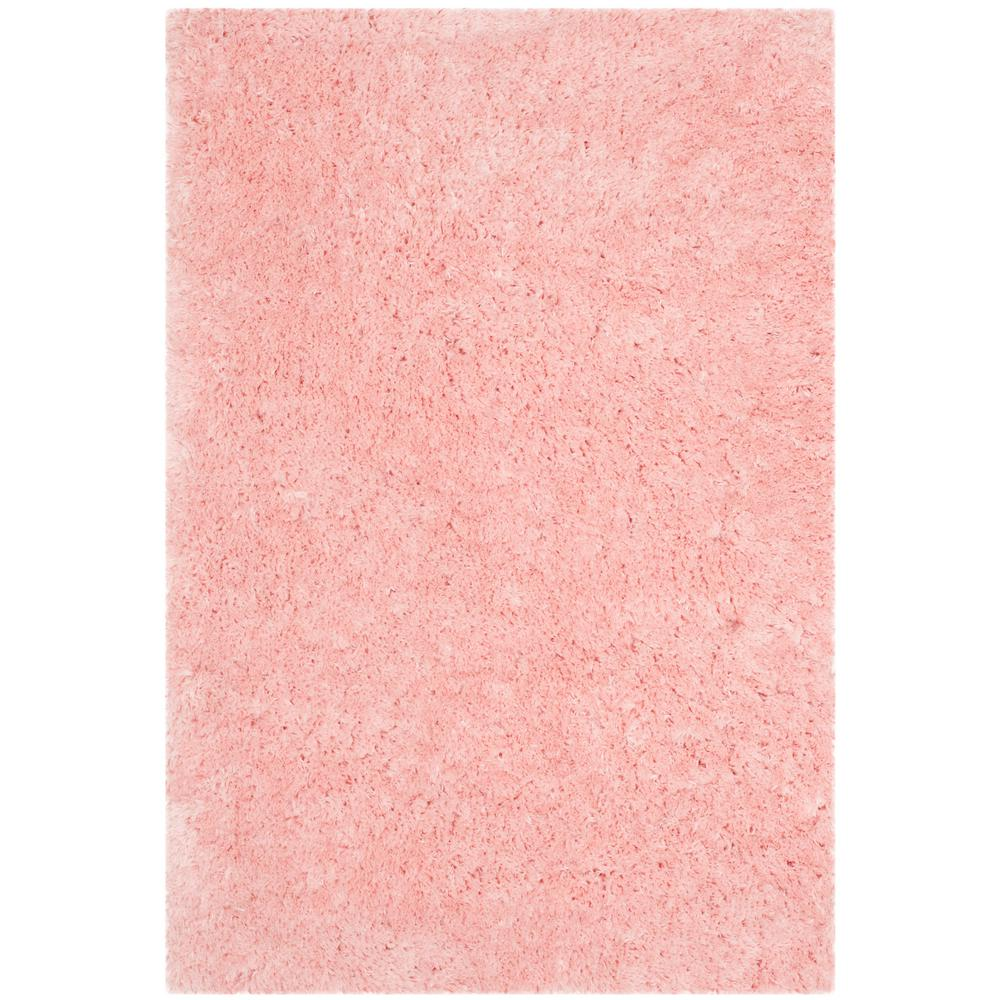 Arctic Shag Pink 5 ft. x 7 ft. Area Rug
