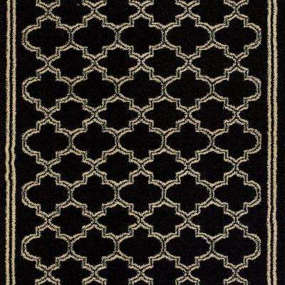 Stratford Garden Gate Black 26 in. x Your Choice Length Stair Runner