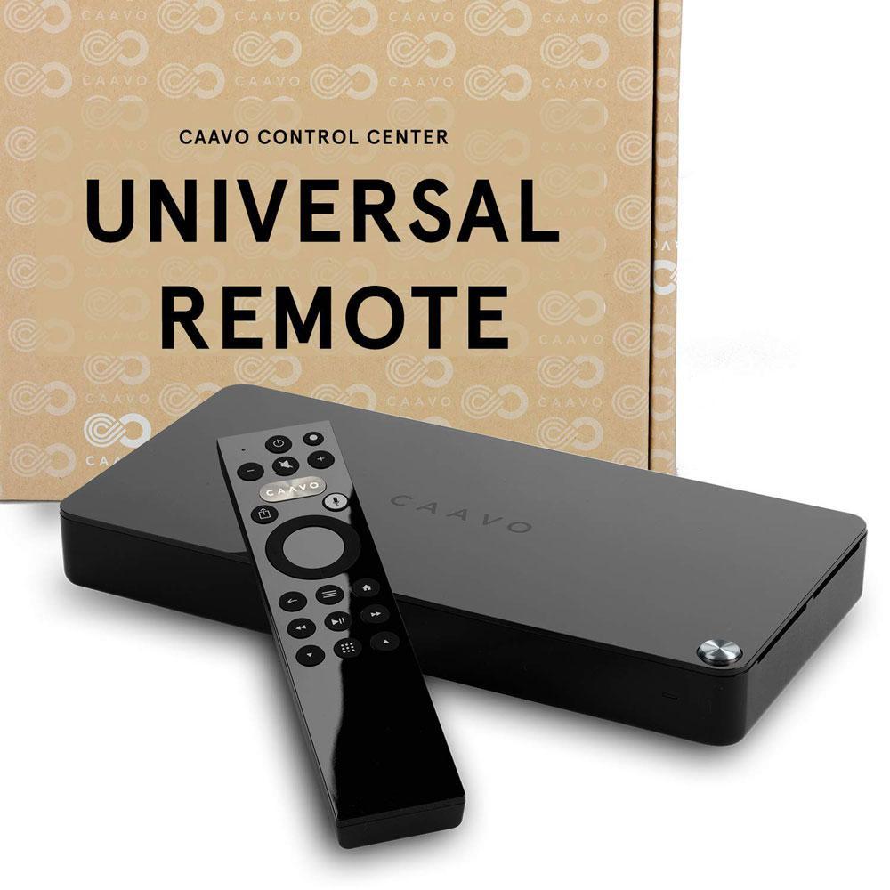 Caavo Control Center Smart Universal TV Remote & Smart Home Theater Hub 4K HDR HDMI Switch Google & Alexa Voice Control