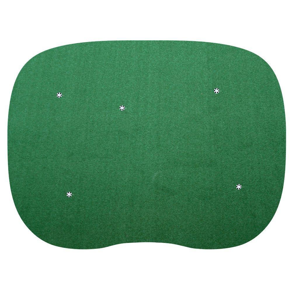 15 ft. x 20 ft. 5-hole Indoor/Outdoor Nylon Practice Putting Green