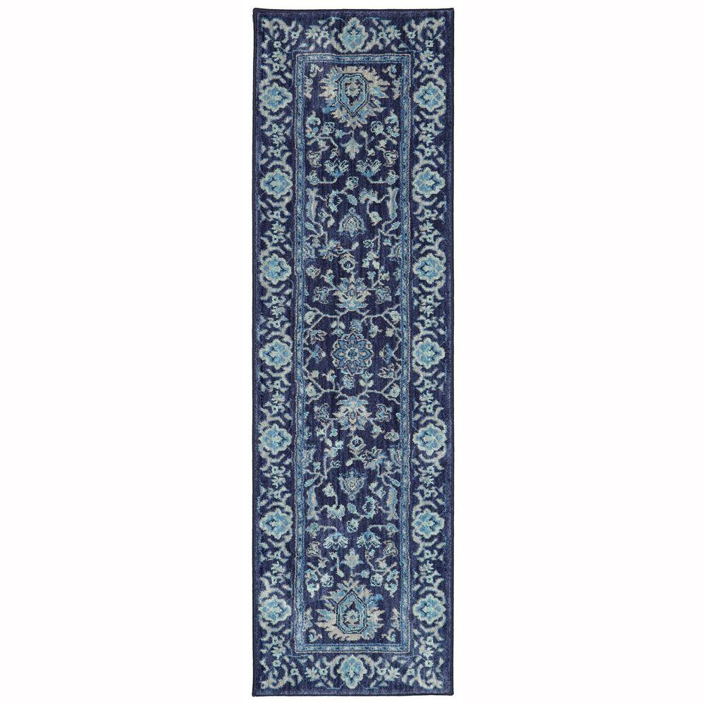 Home decorators collection jackson indigo 2 ft x 7 ft for Home decorators rug runners