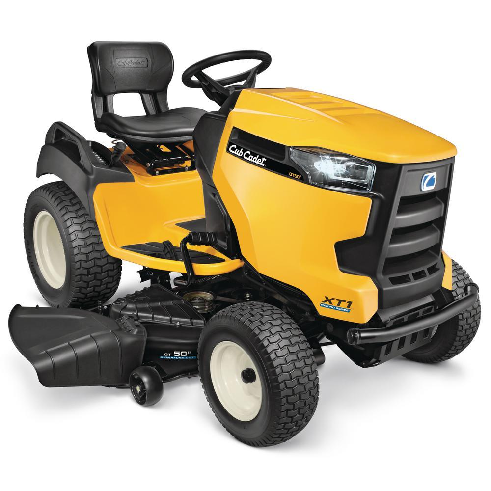 XT1 Enduro GT 50 in. 25 HP V-Twin Kohler Gas Hydrostatic Front Engine Garden Tractor