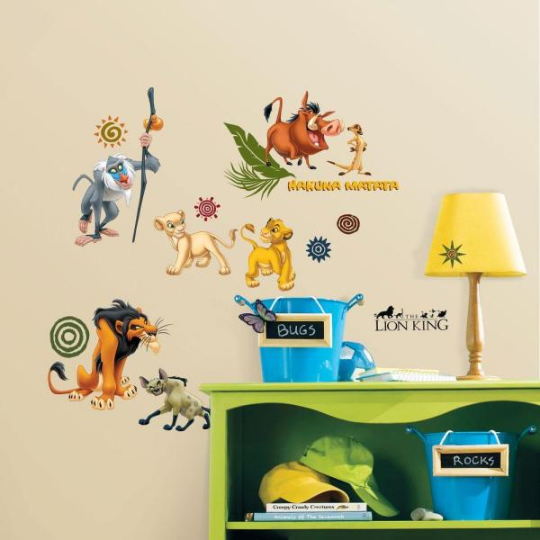 The Lion King L And Stick Wall Decal