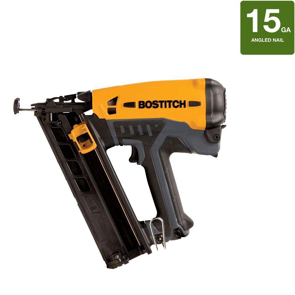 Bostitch 15-Gauge FN Angled Finish Nailer