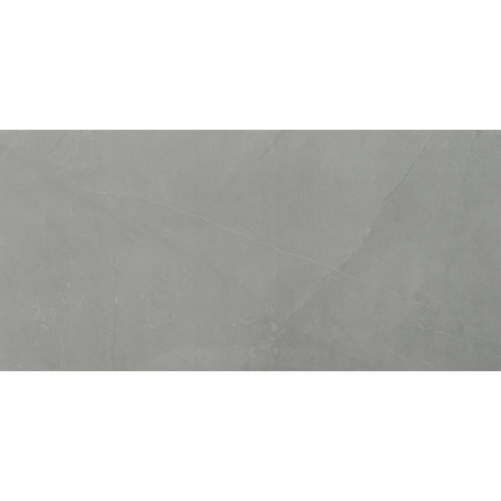 MSI Madison Celeste 12 in. x 24 in. Polished Porcelain Floor and Wall Tile (2 sq. ft.)