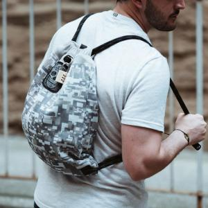 Internet  305263989. Loctote Flak Sack COALITION 18 in. Camo Backpack with Theft  Proof Features 36763da66892e