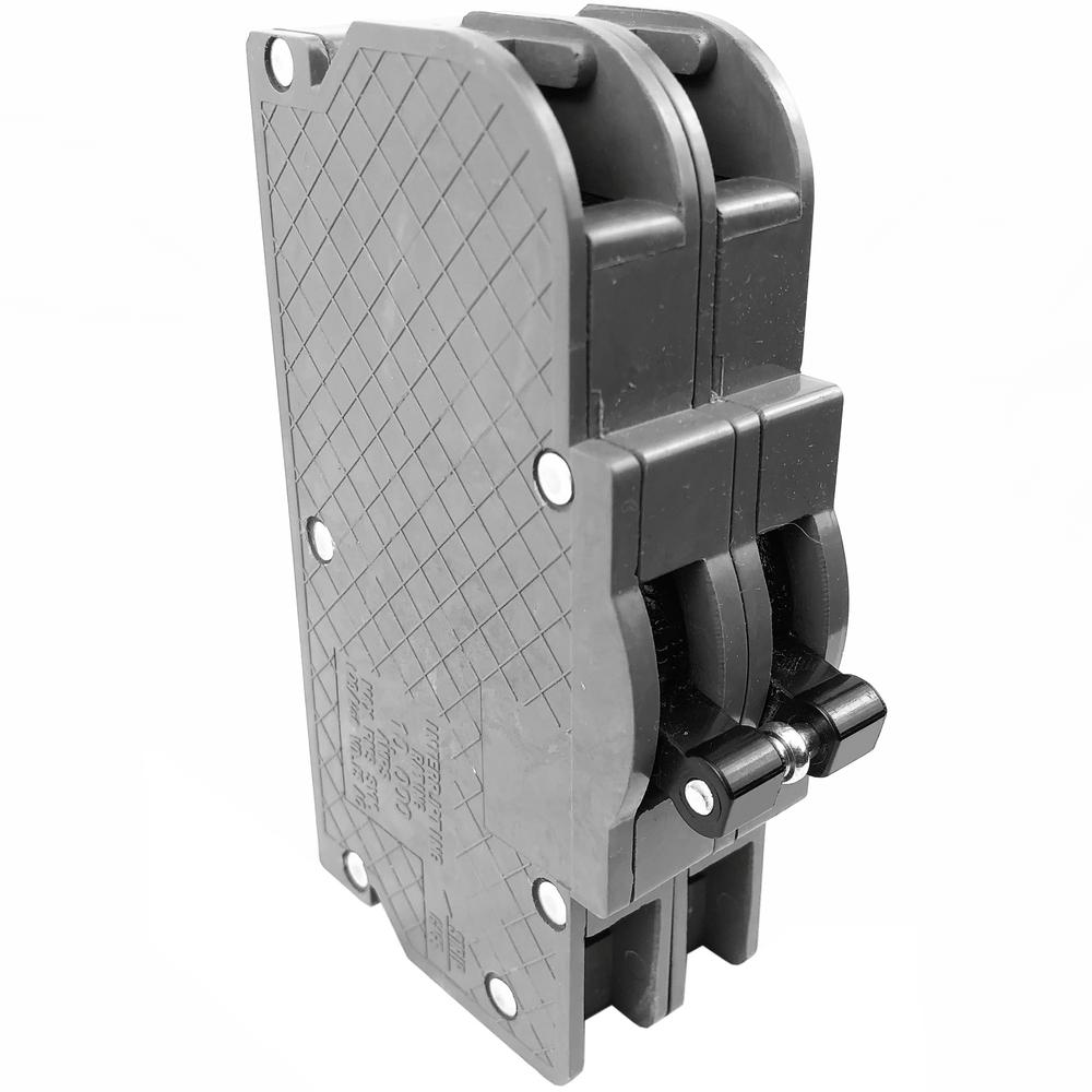 Zinsco Single Pole 20 amp Circuit Breaker Magnetrip White Switch