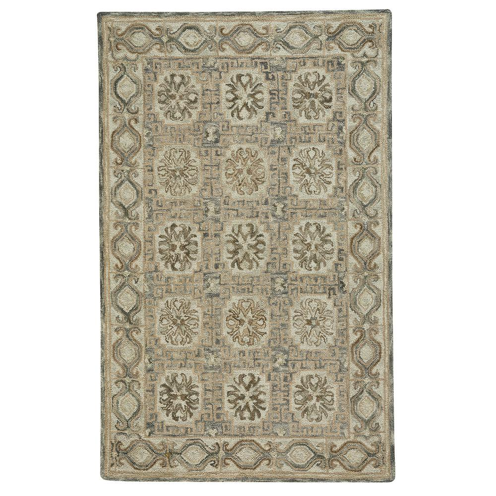 Capel Lincoln Light Tan Silver 4 ft. x 6 ft. Area Rug Capel Lincoln Light Tan Silver 4 ft. x 6 ft. Area Rug
