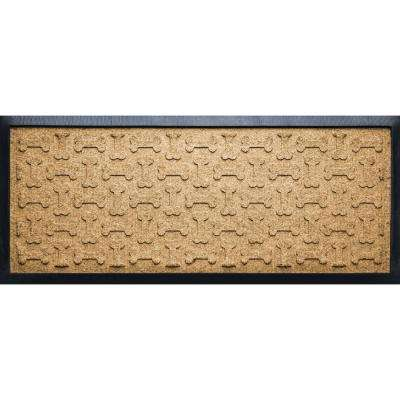 Gold 15 in. x 36 in. x 1/2 in. Dog Treats Boot Tray