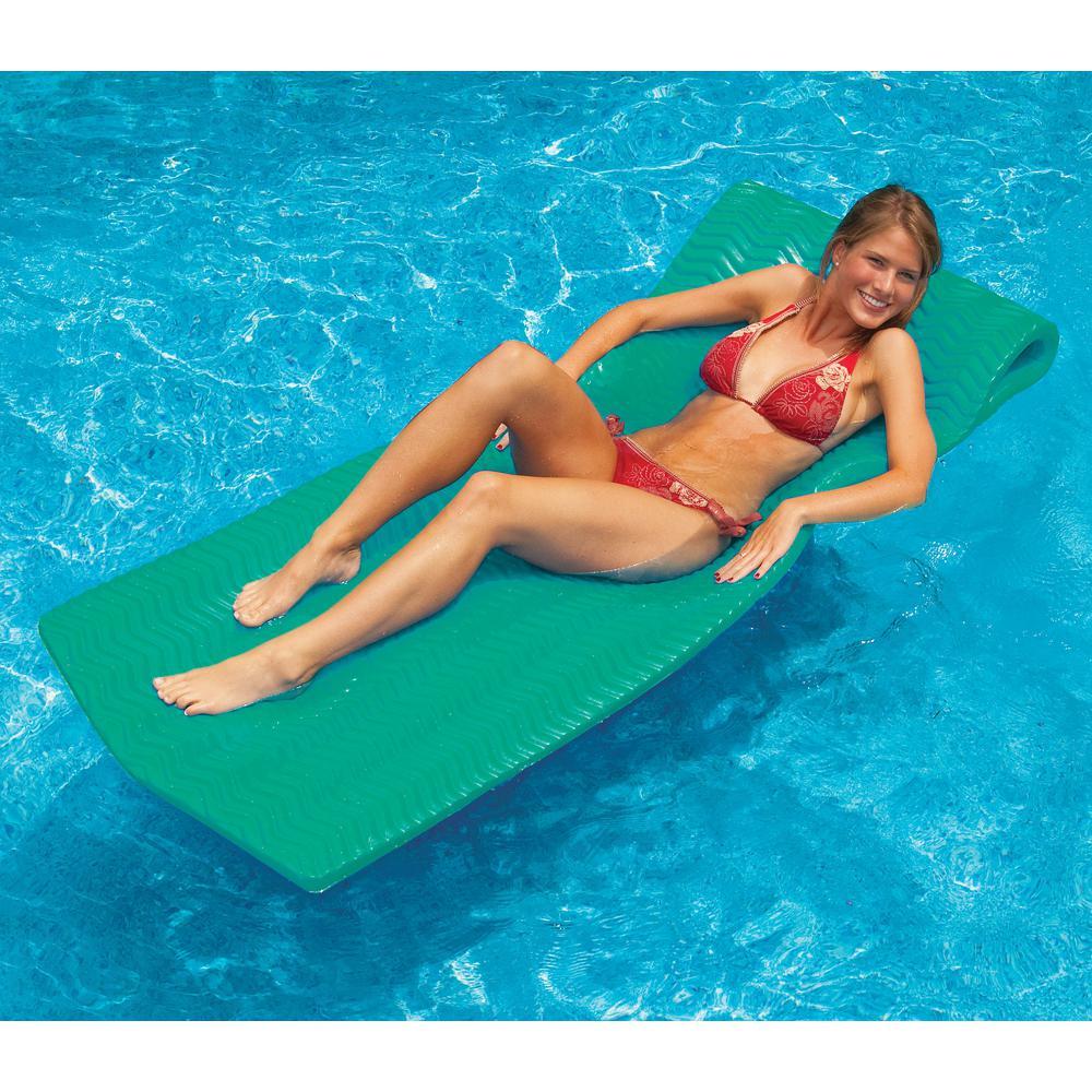 SofSkin Teal Foam Pool Mattress