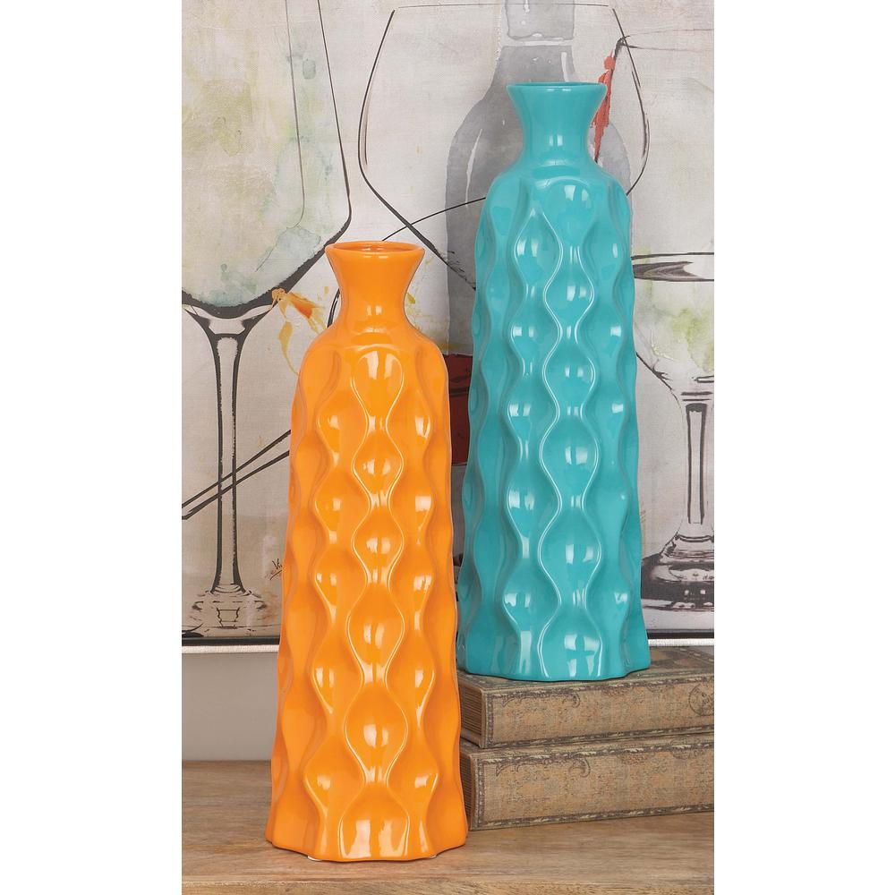 17 in assorted contemporary ceramic decorative vases in multi assorted contemporary ceramic decorative vases in multi color 52381 the home depot reviewsmspy
