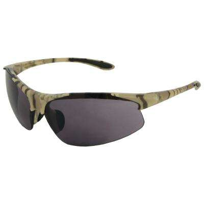 Commandos Eye Protection Camo Frame/Gray Lens