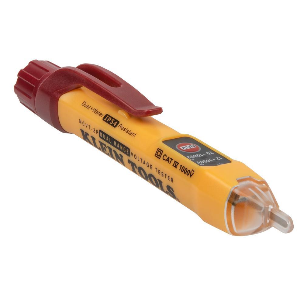 12-Volt to 1000-Volt AV Dual Range Non-Contact Voltage Tester