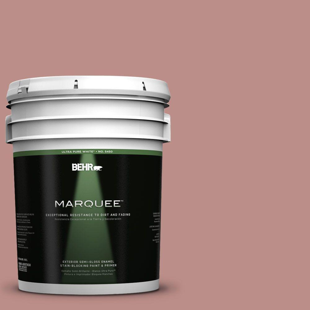 BEHR MARQUEE 5-gal. #160F-4 Ponder Semi-Gloss Enamel Exterior Paint