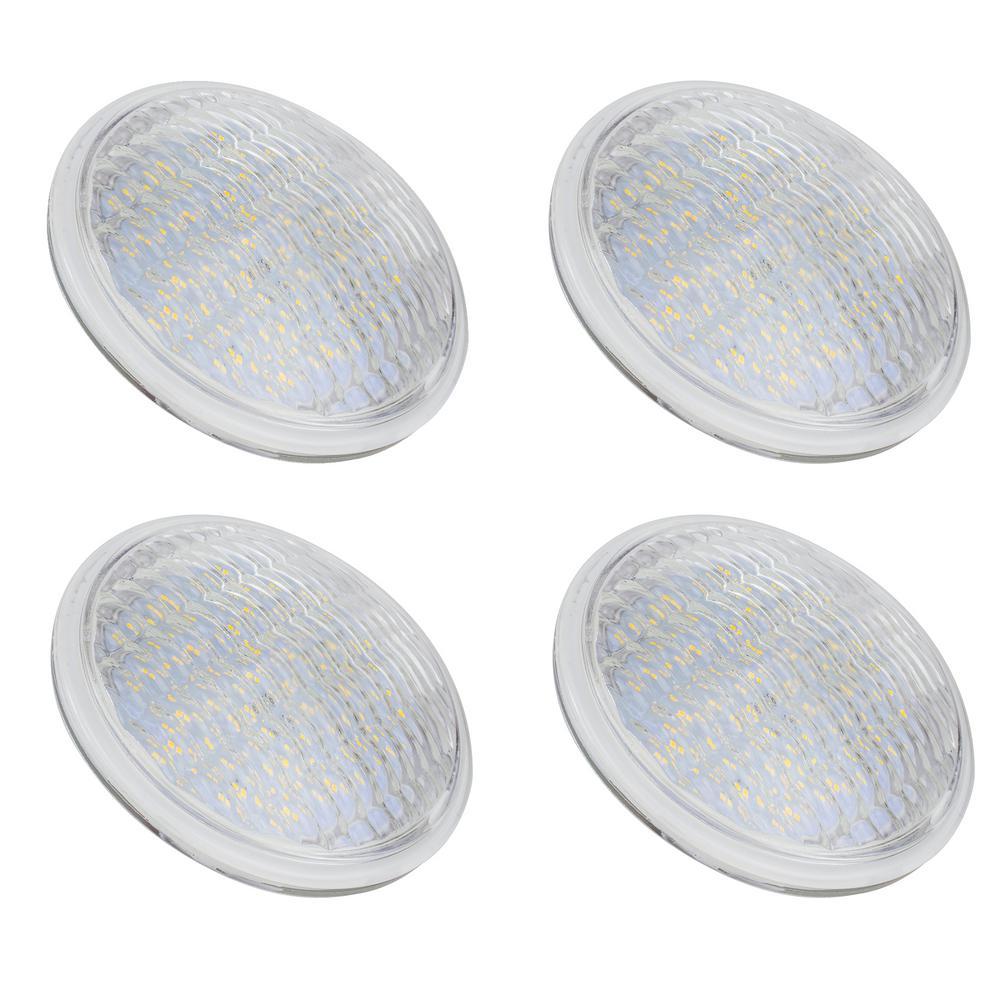 75-Watt Equivalent PAR36 LED Light Bulb Warm White (4-Pack)
