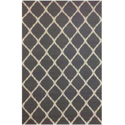 Tangier Grey 5 ft. x 8 ft. Area Rug