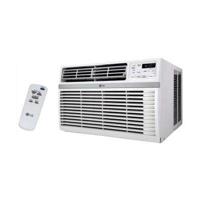 10,000 BTU Window Smart (Wi-Fi) Air Conditioner with Remote, ENERGY STAR in White