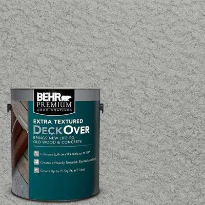 1 gal. #PFC-68 Silver Gray Extra Textured Wood and Concrete Coating