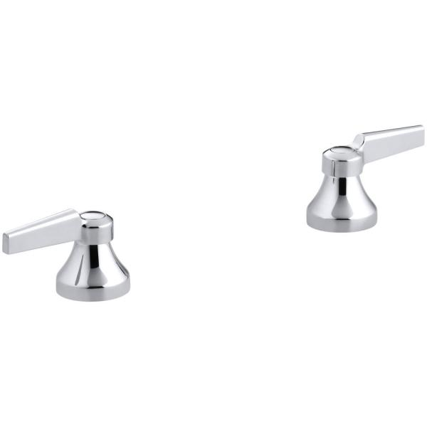 Triton Lever Handles in Polished Chrome (2-Pack)
