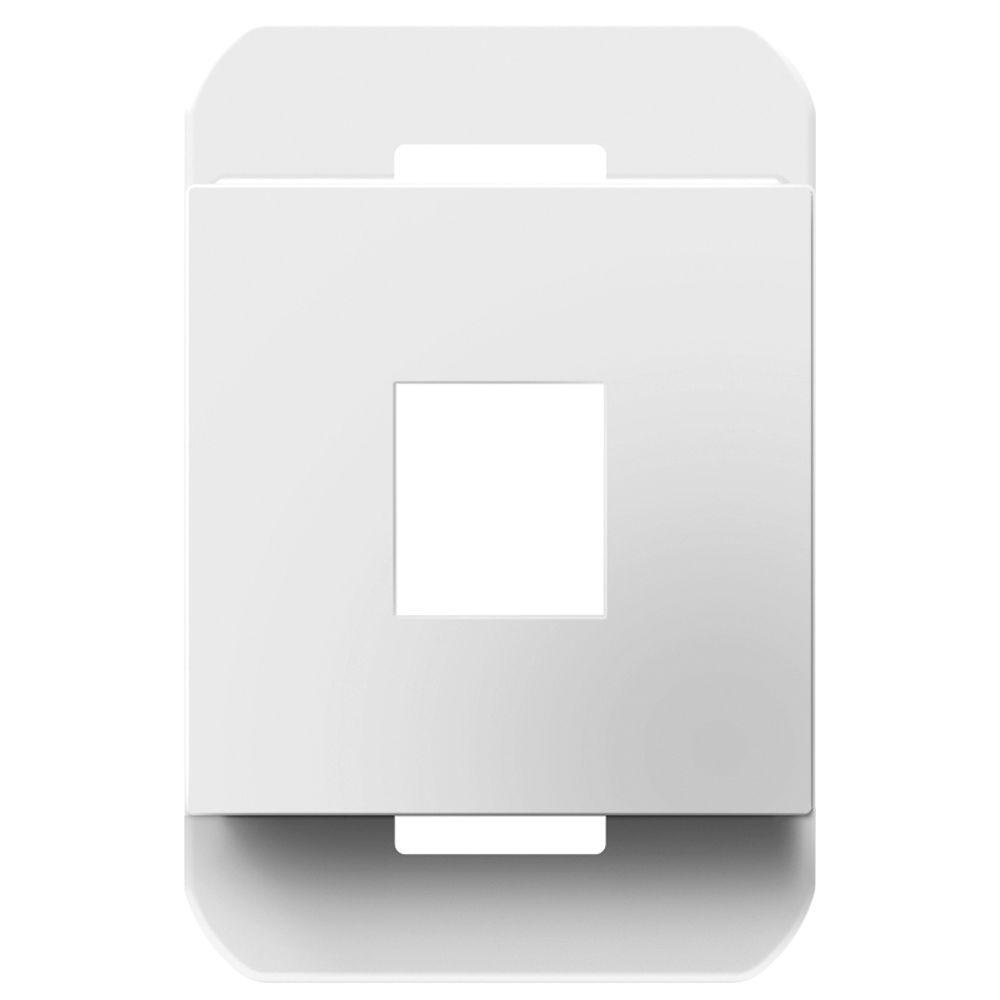 Legrand adorne 1-Port Keystone Frame - White
