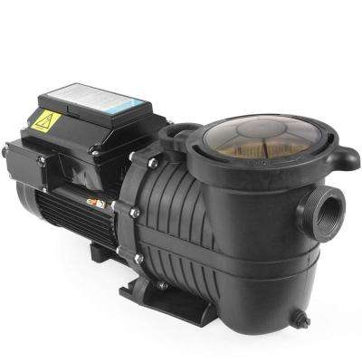 1.5 HP 230-Volt 6060 GPH Self-Priming Variable Speed Pool Pump 1.5 NPT for In/Above Ground w/Timer and LCD Control Panel