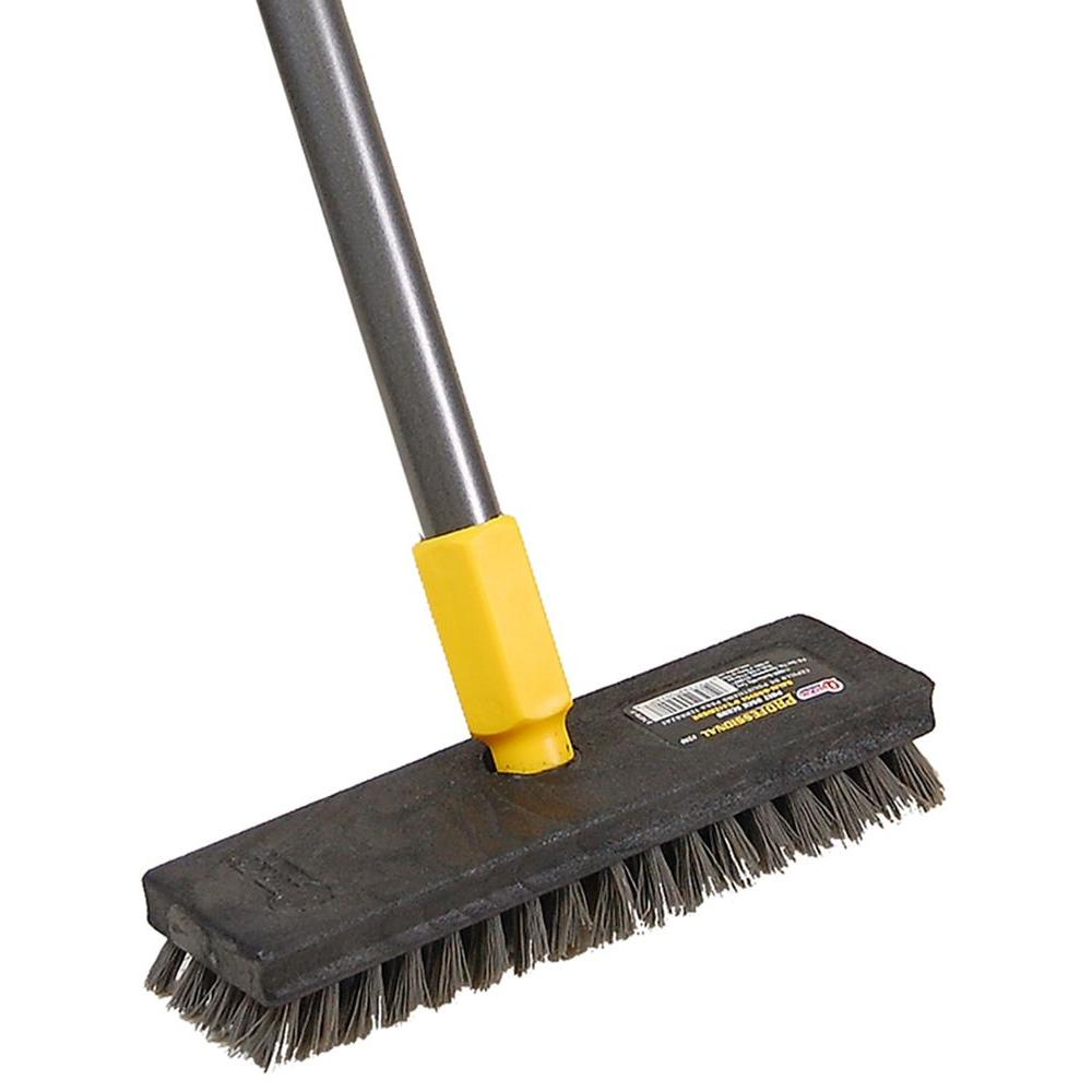 Quickie Professional Pool and Deck Scrub Brush-2408ZQK - The Home ...