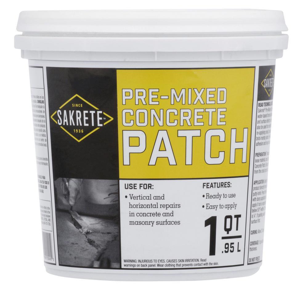Qt Pre Mixed Concrete Repair Patch