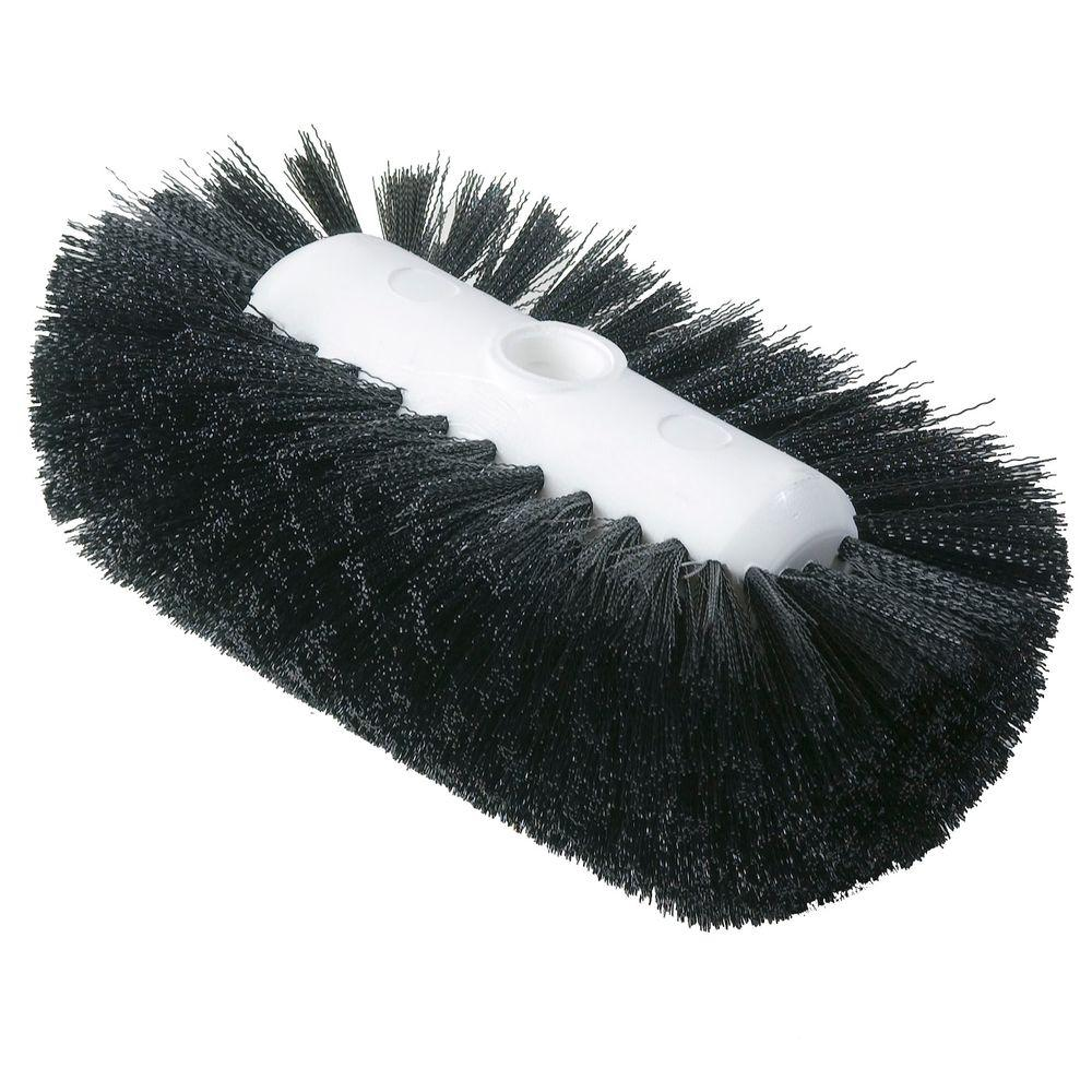 5.5 in. x 9.0 in. Black Tank and Kettle Scrub Brush