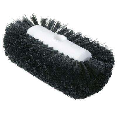 5.5 in. x 9.0 in. Black Tank and Kettle Scrub Brush (Case of 12)