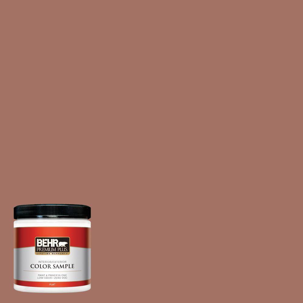 8 oz. #200F-5 Toasted Nutmeg Interior/Exterior Paint Sample