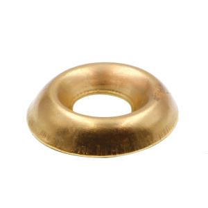 Nickel Plated Quantity: 100 INCH   #8 COUNTERSUNK Finishing Washer