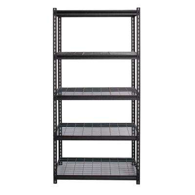 2300 Series 18 in. D x 36 in. W x 72 in. H Wire Deck Adjustable 5-Tier Garage Shelving Unit