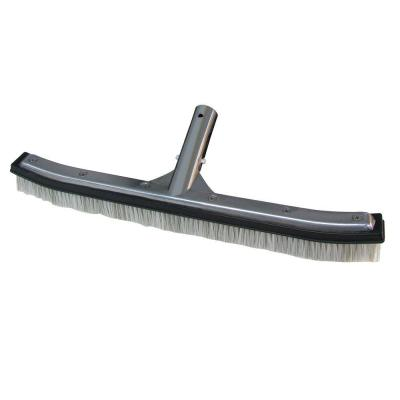 18 in. Combo Nylon and Stainless Steel Swimming Pool Brush