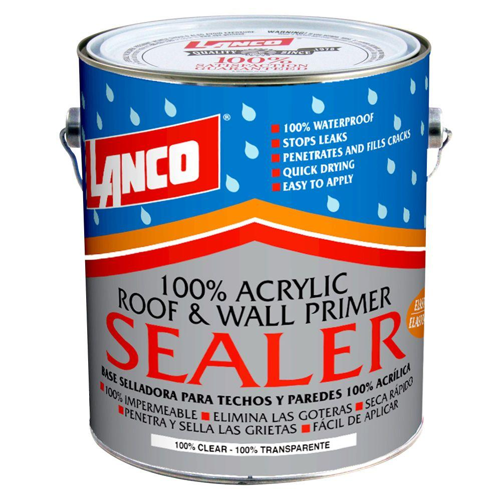 1 Gal. 100% Acrylic Roof and Wall Primer Sealer