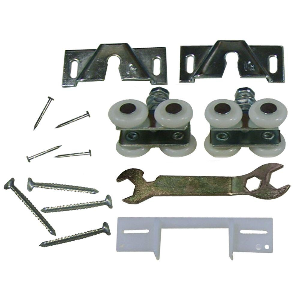 Jeld Wen Interior Pocket Door Hardware Kit 2051120 The Home Depot