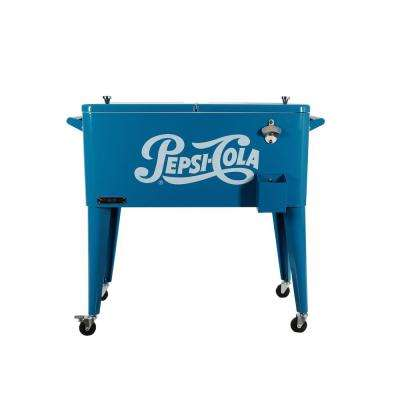 80 Qt. Rolling Patio Cooler